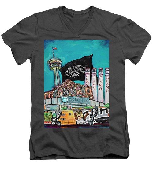 City Spirit Men's V-Neck T-Shirt