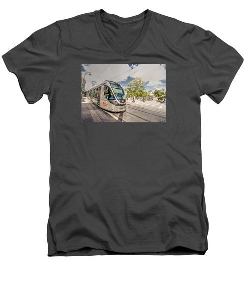 Citypass Men's V-Neck T-Shirt
