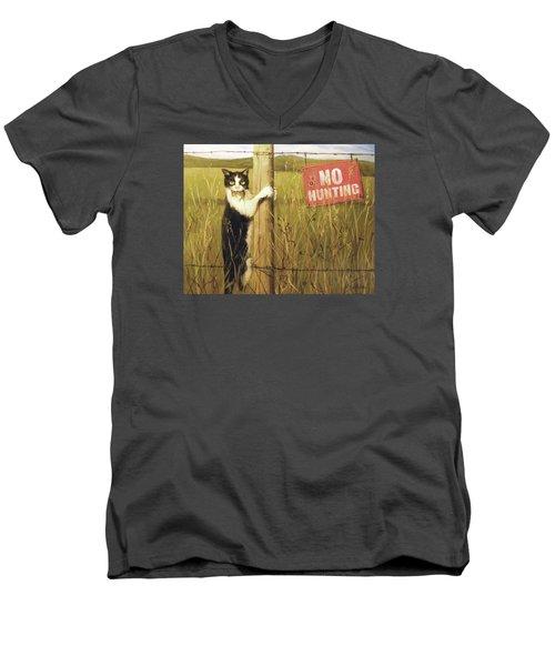 Civil Disobediance Men's V-Neck T-Shirt