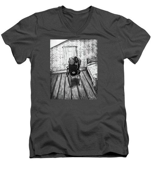 Rhode Island Civil War, Vacant Chair Men's V-Neck T-Shirt