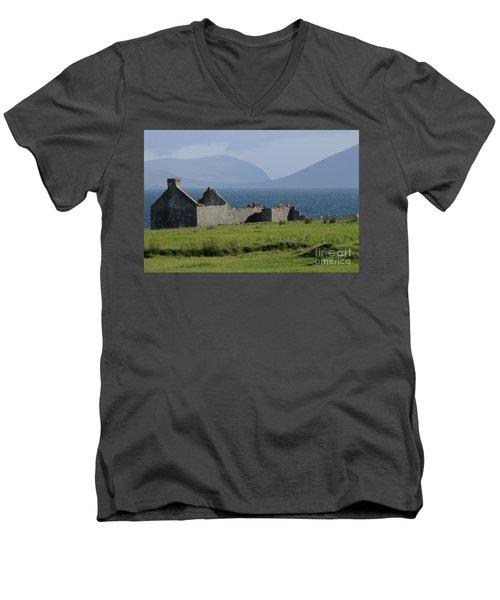 Claggan Island Men's V-Neck T-Shirt