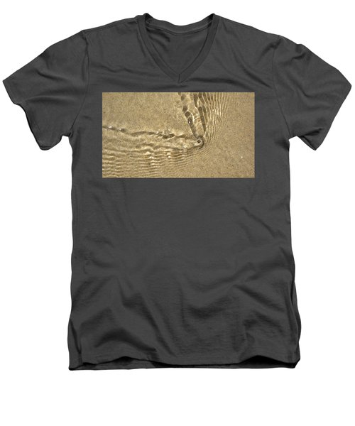 Clams And Ripples Men's V-Neck T-Shirt