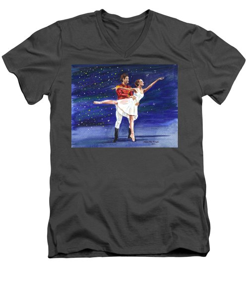 Clara's Nutcracker Men's V-Neck T-Shirt