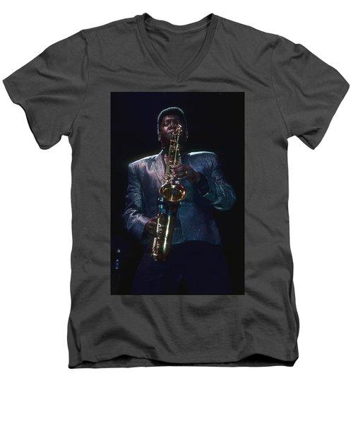 Clarence Clemons Men's V-Neck T-Shirt