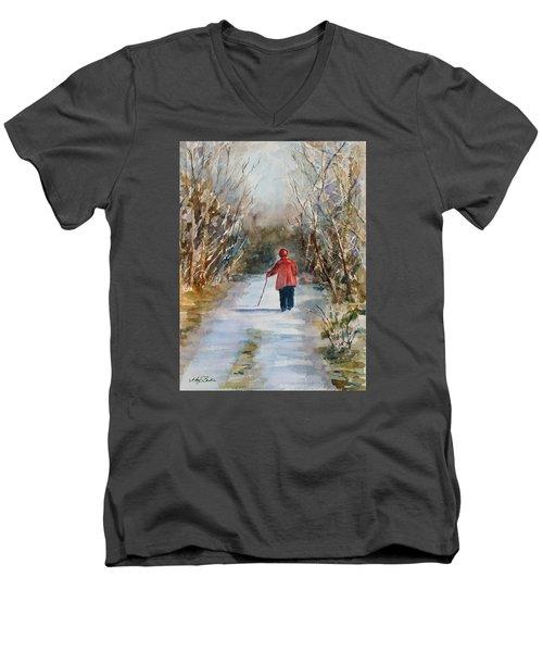 Clare's Lane Men's V-Neck T-Shirt