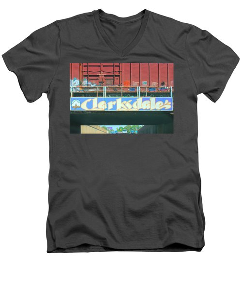 Clarksdale Overpass Men's V-Neck T-Shirt