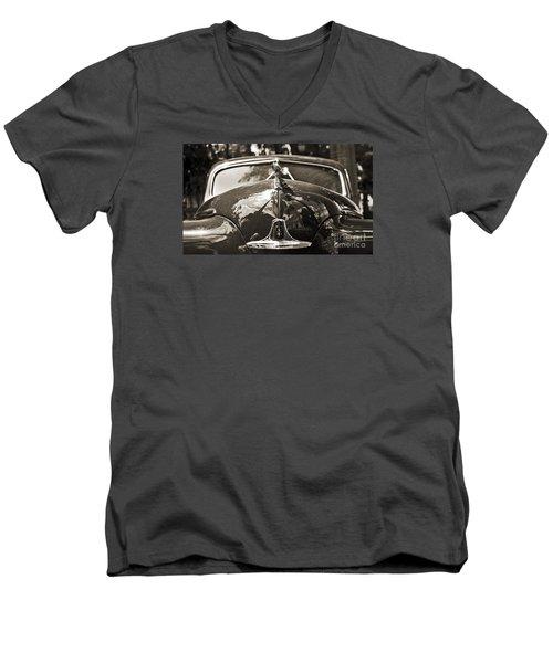 Classic Car Detail - Dodge 1948 Men's V-Neck T-Shirt