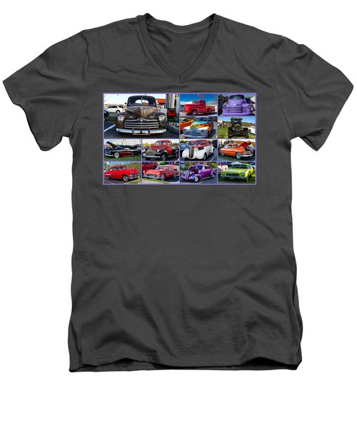 Classic Cars Men's V-Neck T-Shirt