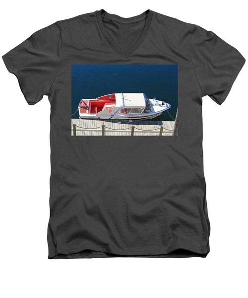 Classic Coronado  Men's V-Neck T-Shirt