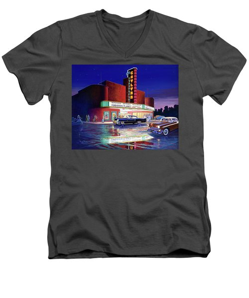 Classic Debut -  The Gaylynn Theatre Men's V-Neck T-Shirt