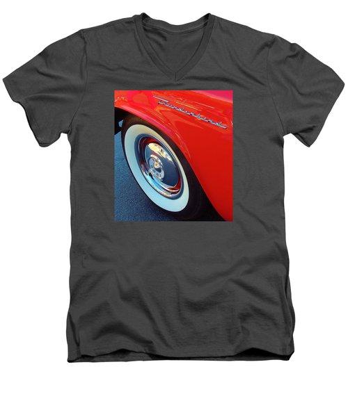 Classic T-bird Tire Men's V-Neck T-Shirt