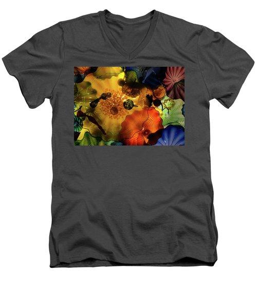 Classy Glass Men's V-Neck T-Shirt