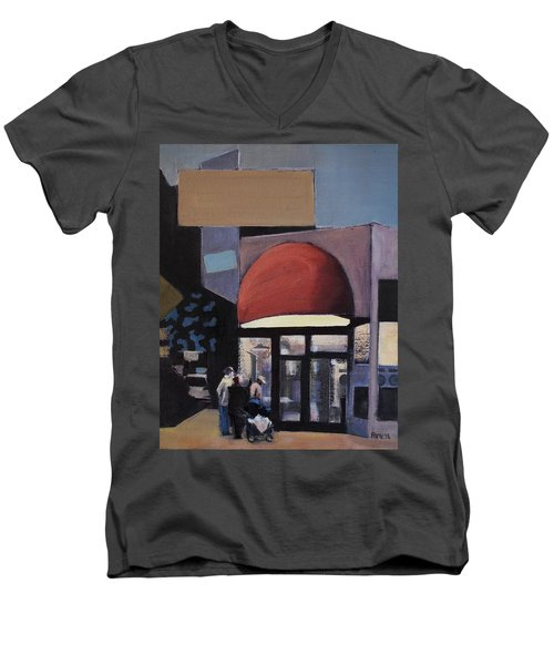 Clean - O - Matic Men's V-Neck T-Shirt