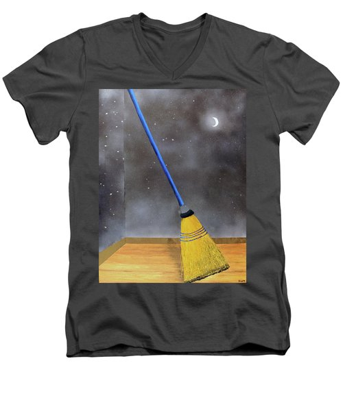 Cleaning Out The Universe Men's V-Neck T-Shirt