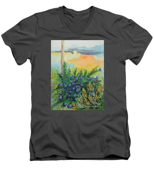 Cleansed Men's V-Neck T-Shirt by Holly Carmichael