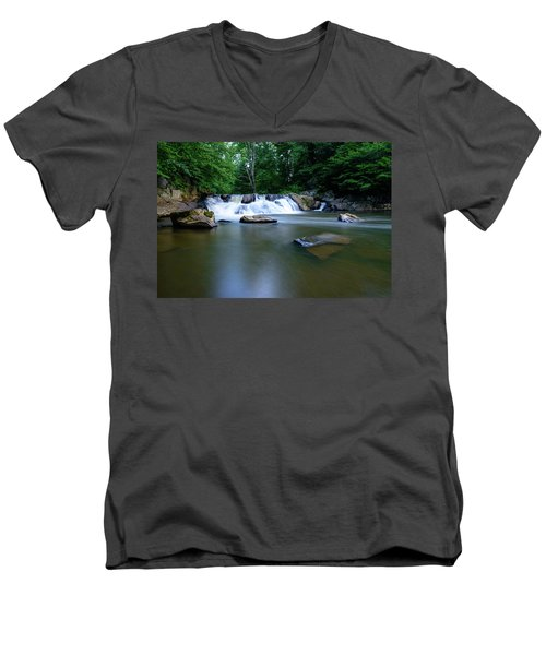 Clear Creek Men's V-Neck T-Shirt