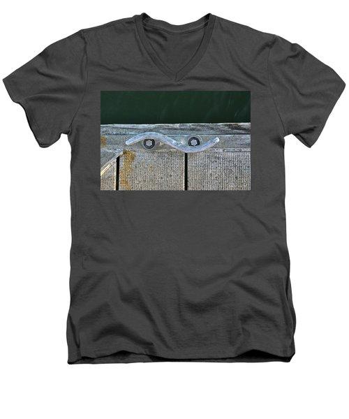 Cleat On A Dock Men's V-Neck T-Shirt