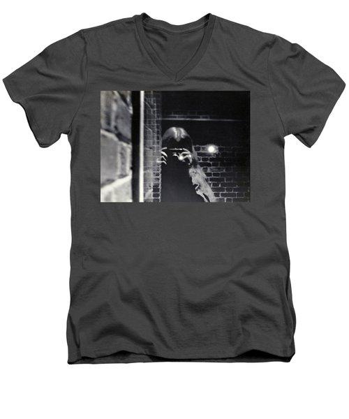 Click Men's V-Neck T-Shirt