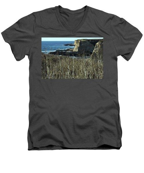 Cliff View Men's V-Neck T-Shirt
