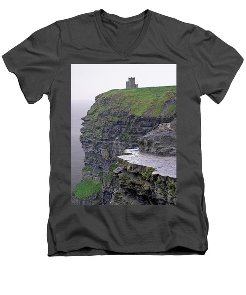 Cliffs Of Moher Ireland Men's V-Neck T-Shirt