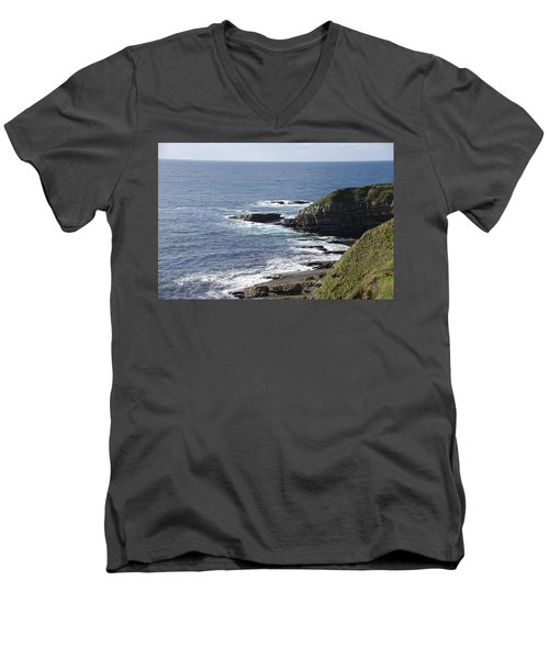 Cliffs Overlooking Donegal Bay II Men's V-Neck T-Shirt