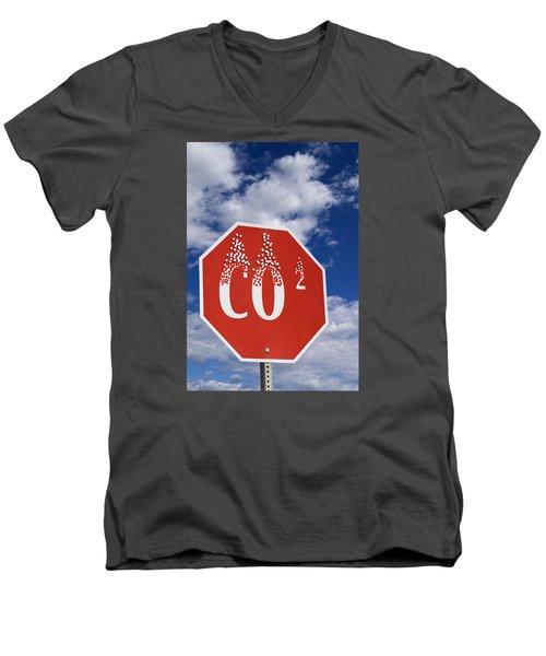 Climate Change Men's V-Neck T-Shirt