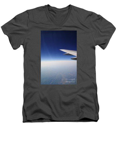 Climb Higher Men's V-Neck T-Shirt