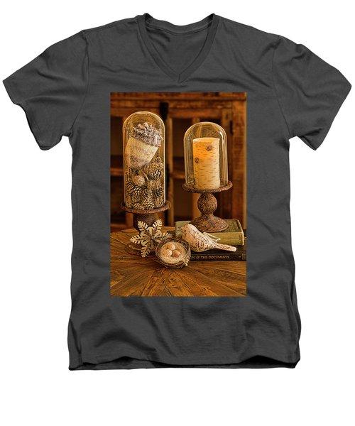 Cloches De La Nature Men's V-Neck T-Shirt