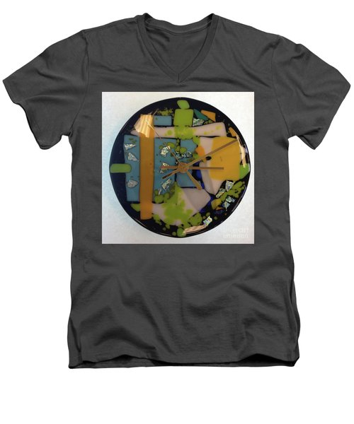Clock Men's V-Neck T-Shirt