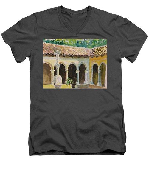 Cloister, Nyc Men's V-Neck T-Shirt