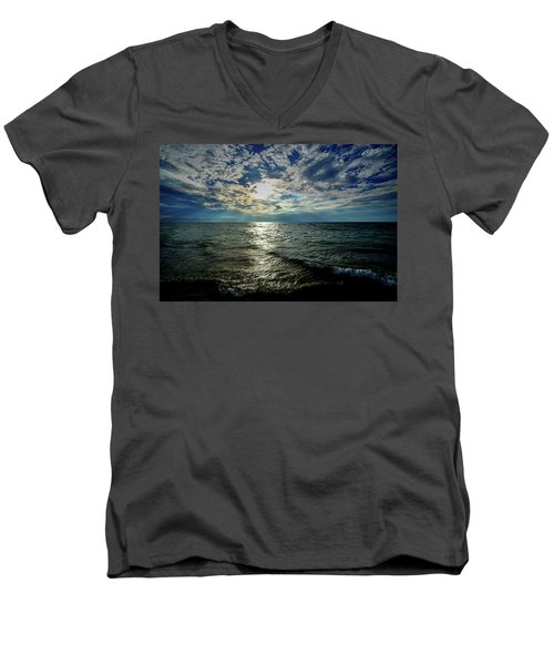 Close To Sunset... Men's V-Neck T-Shirt