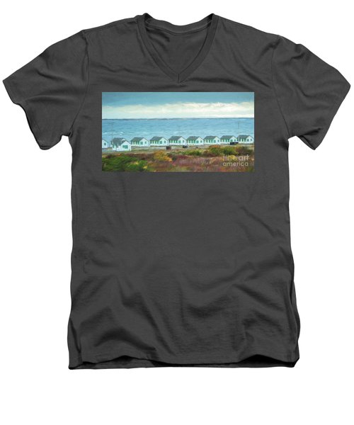 Closed For The Season Men's V-Neck T-Shirt