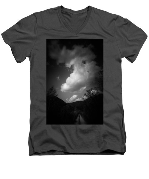Cloud #2186 Men's V-Neck T-Shirt
