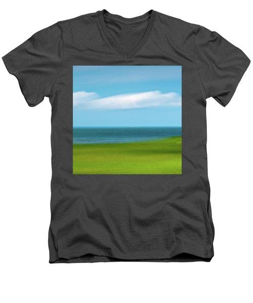 Cloud Bank 3 Men's V-Neck T-Shirt
