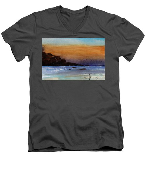 Cloud Bank Men's V-Neck T-Shirt