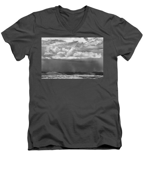 Cloudy Weather Men's V-Neck T-Shirt