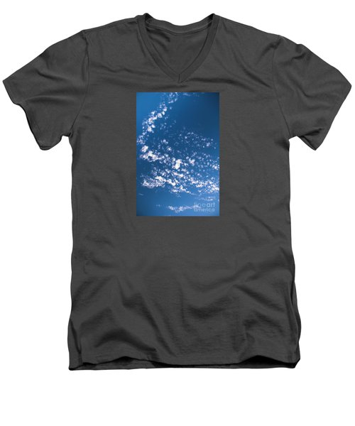 Men's V-Neck T-Shirt featuring the photograph Cloud Dragon by Yulia Kazansky