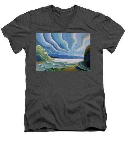 Cloud Forms Men's V-Neck T-Shirt