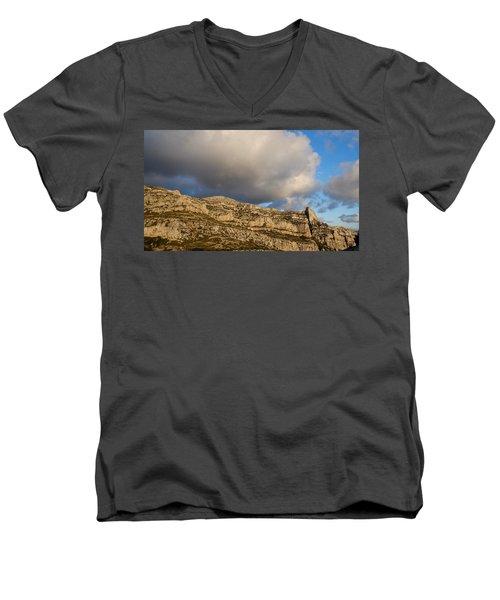 Cloud Kiss Men's V-Neck T-Shirt