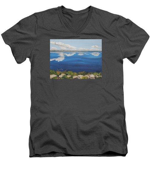Cloud Lake Men's V-Neck T-Shirt