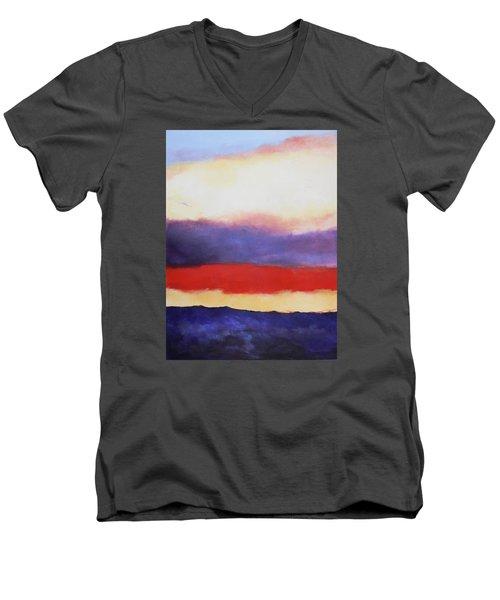 Cloud Layers 4 Men's V-Neck T-Shirt by M Diane Bonaparte