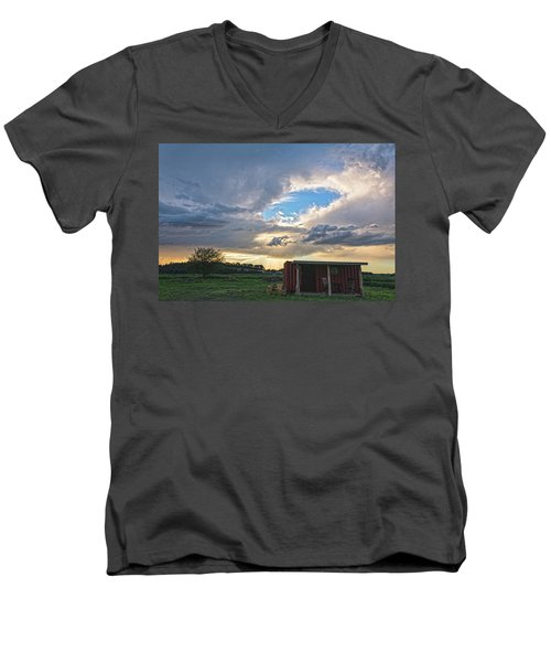 Cloud Portal Men's V-Neck T-Shirt