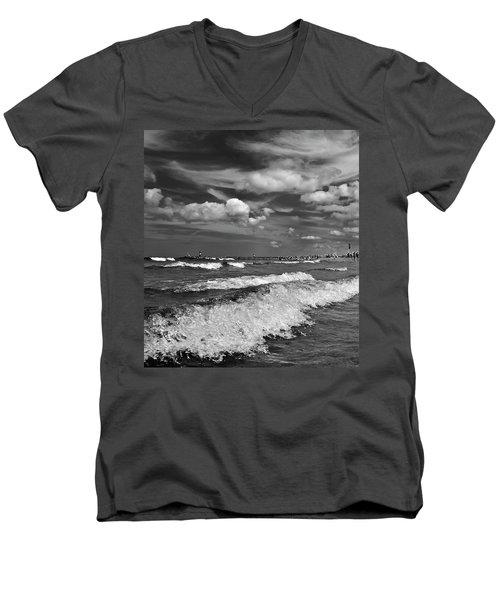 Cloud Sound Drama Men's V-Neck T-Shirt