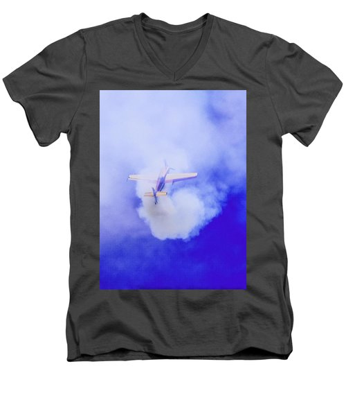 Cloudmaster Men's V-Neck T-Shirt by Michael Nowotny