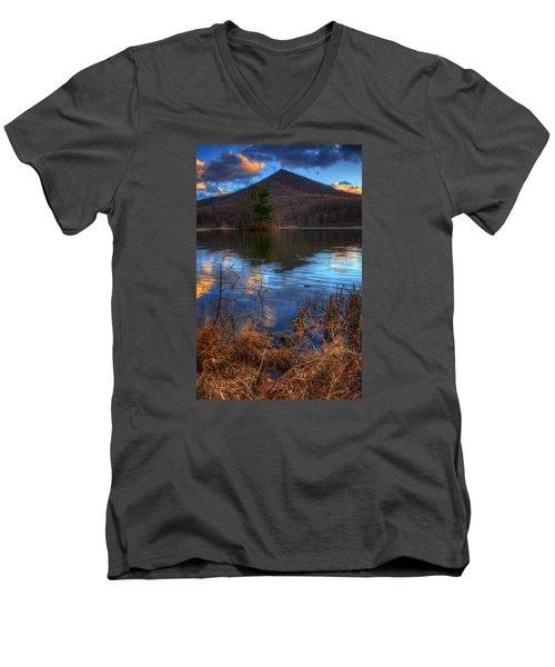 Clouds On Abbott Lake Men's V-Neck T-Shirt