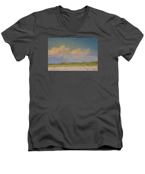Clouds Over Goosewing Men's V-Neck T-Shirt