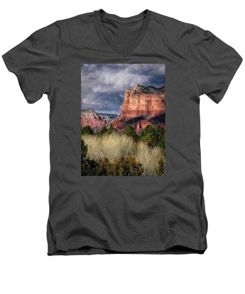 Clouds Over Sedona Men's V-Neck T-Shirt