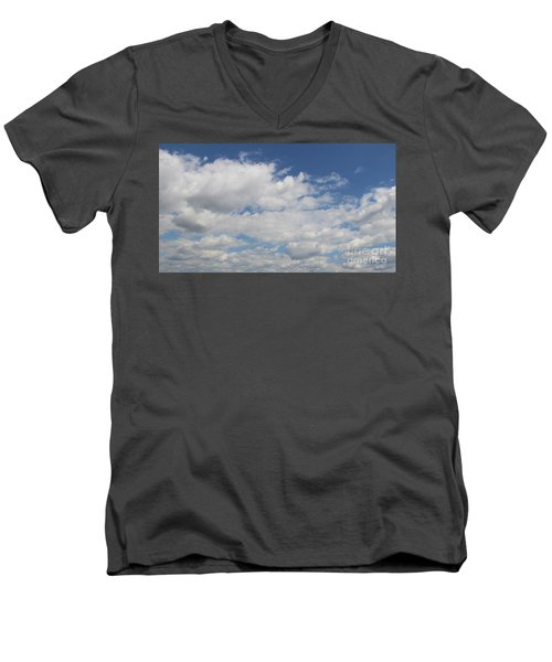 Clouds 17 Men's V-Neck T-Shirt by Rod Ismay