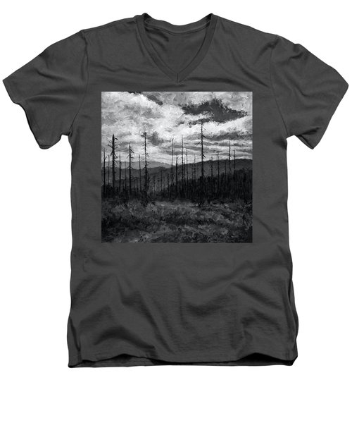 Cloudscape 3 Men's V-Neck T-Shirt