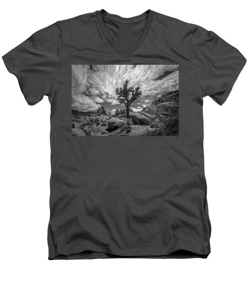 Cloudscapes 3 Men's V-Neck T-Shirt